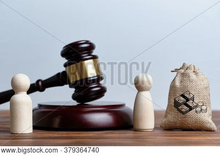 The Concept Of The Seizure Of Part Of The Property By The Wife From The Husband Through The Court.