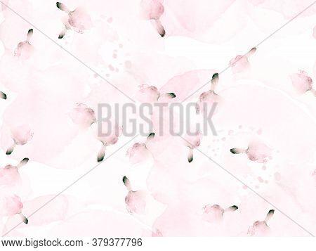 Vintage Peonie Eco Rapport.  Summer Blossom Background. Botanical Floral Illustration. Exotic Swimwe