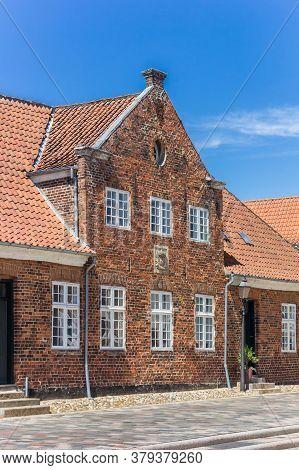 Historic House At The Torvet Market Square In Ribe, Denmark