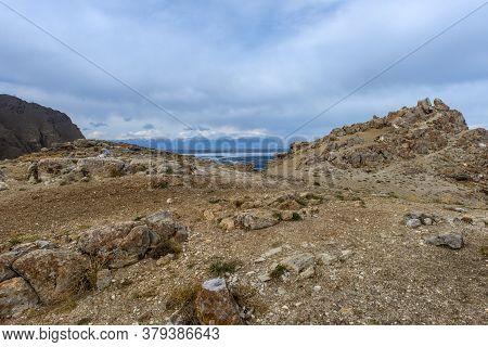 Cape Of Love, Olkhon Island, Baikal, Spring Landscape