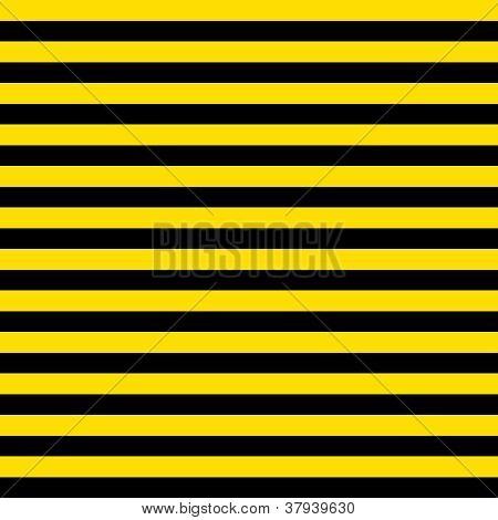 Seamless Black & Yellow Stripes