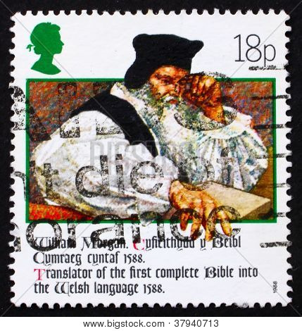 Postage stamp GB 1988 William Morgan