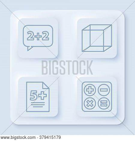 Set Line Graph, Schedule, Chart, Diagram, Function Mathematical Symbol, Calculator And Square Root.