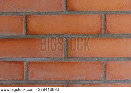 Brick Wall. Brickwork. Red Brick Wall. Background
