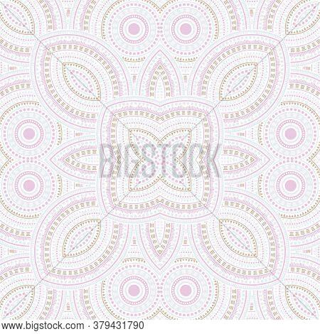 Fine Portugese Azulejo Tile Seamless Rapport. Geometric Texture Vector Swatch. Plaid Print Design. T