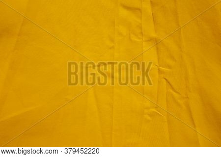 Waterresistant Fabric Close Up Of Umbrella Canopy Surface With Folding Wrinkles