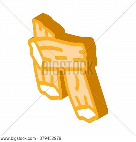 Soy Tofu Skins Icon Vector. Isometric Soy Tofu Skins Sign. Color Isolated Symbol Illustration