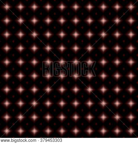 Diamond Shape Design And Square Textile Pattern And Tiles Design With Multicolour ( Dark Red, Red ,