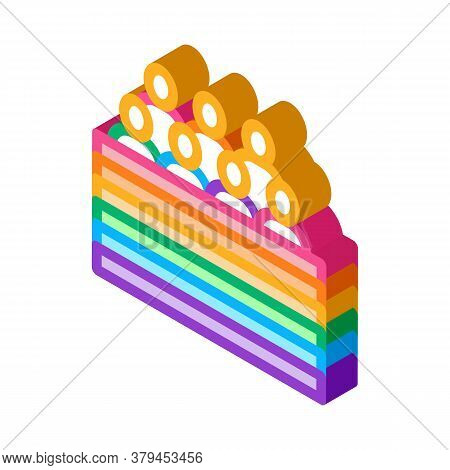 Lgbt Community Icon Vector. Isometric Lgbt Community Sign. Color Isolated Symbol Illustration