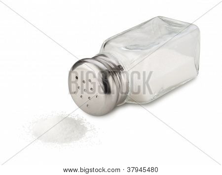 Salt Spill Isolated With Clipping Path