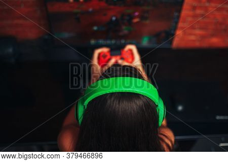 E-sports. Girl Playing A Strategy Video Game. Steam Community. Esports Club, Banner