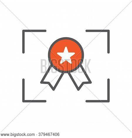 Focus On Quality Line Icon Illustration Vector Symbol