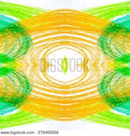 Colored Round,square, Triangular Design Elements. Energy Space Ornament. Oil Happiness Topography Pa