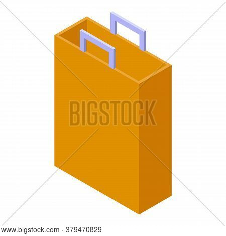 Bag Storage Icon. Isometric Of Bag Storage Vector Icon For Web Design Isolated On White Background