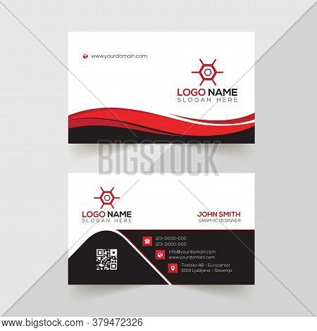 Modern Professional Business Card Template, Simple Business Card,  Business Card Design Template, Corporate Business Card Design, Colorful Business Card Template, Creative Business Card. Editable Business Card, Abstract Business Card