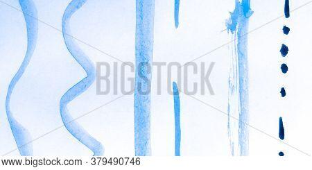 Distress Line Pattern. Stripes White Retro Ornament. Background Distress Line Pattern. Ripple Organi