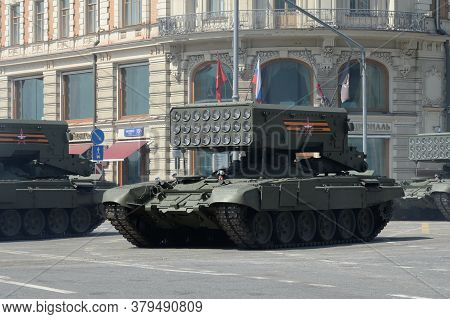 Moscow, Russia - June 20, 2020:tos-1a