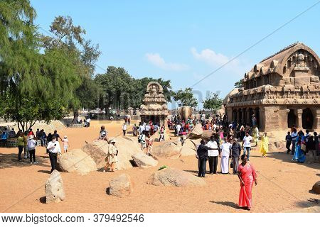Famous Tamil Nadu Landmark Mahabalipuram
