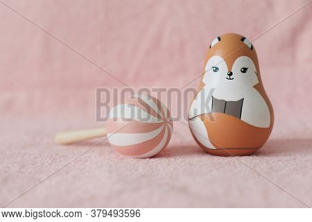 Cute Wooden Toys For Baby. Baby Shower. Educational Toys For Newborn. Eco Friendly Non Plastic Toys