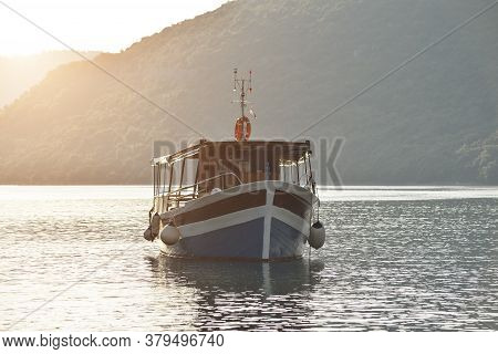 Rovinj, Croatia - May 22, 2020: Limski Kanal Limski Fjord In Istria Near Rovinj. Adriatic Sea, Croat