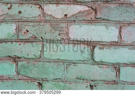 Brick Wall Background Old Green Bricks Wall Pattern Brick Wall Texture Or Brick Wall Background On D