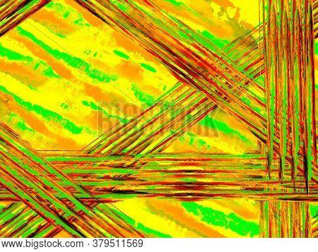 Stripes Seamless Pattern. Geometric Animal Texture. Zebra Skin Print. Animal Camouflage Background.