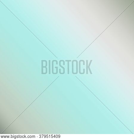 Gradient With Aqua Turquoise And Gray Shades Set At A Diagonal Pattern For Design Elements And Backg