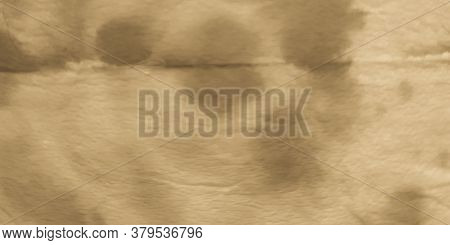 Ripped Parchment. Black And White Kilim Canvas. Grunge Rough Tie Dye Design. Beige Ivory. Craft Tie