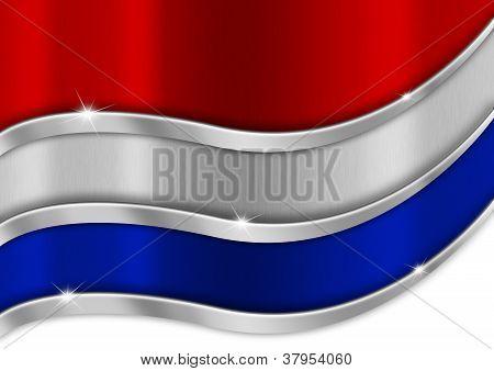 Holland Metal Flag
