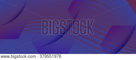 Red Dynamic Abstract. Flow Shapes Pattern. 3d Wallpaper. Color Business Stripes. Gradient Modern Dyn