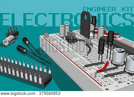 Electronics Components Kit For Electronics Engineers