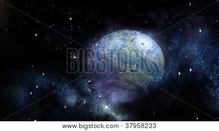 Earth Photo- Twister