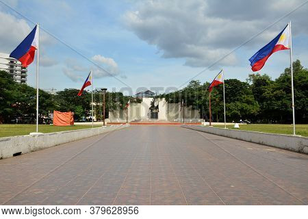 San Juan, Ph - Nov 17 - Pinaglabanan Shrine Outdoor Park On November 17, 2018 In San Juan, Philippin