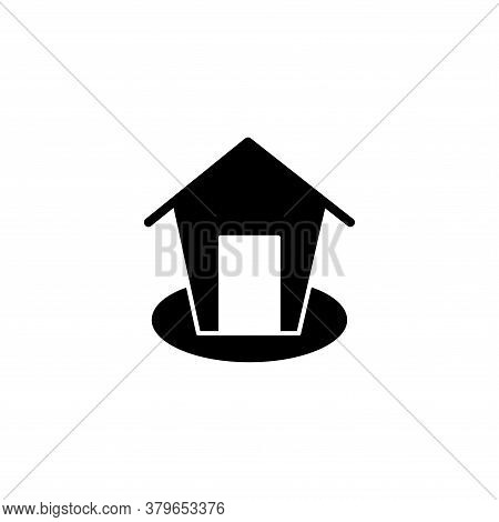 Illustration Vector Graphic Of Home Icon. Fit For House, Real Estate, Residential, Cottage, Etc.