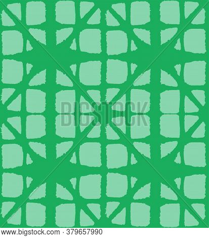 Japanese Tie Dye Seamless Pattern. Rich Vip Japanese Clothes Texture. Bohemian Geometric Asian Tie D