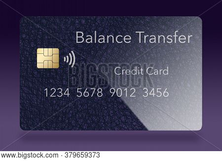 Here Is Generic Purple Balance Transfer Credit Card That Offers Low Rates On Balance Transfers.