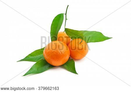 Isolated tangerine