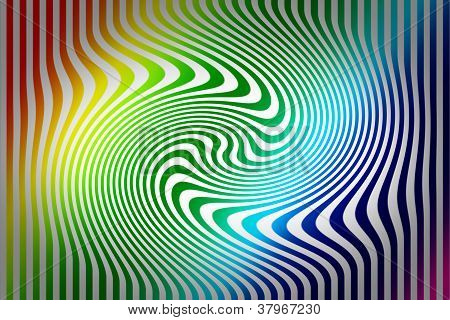 Colorful Swirl Abstract