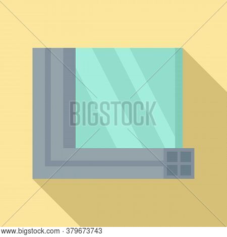 Windows Section Icon. Flat Illustration Of Windows Section Vector Icon For Web Design