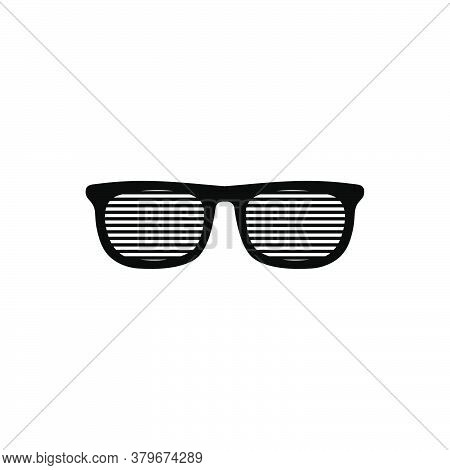 Eyeglasses Icon Vector. Eyeglasses Icon Isolated On White Background. Eyeglasses Icon Simple And Mod
