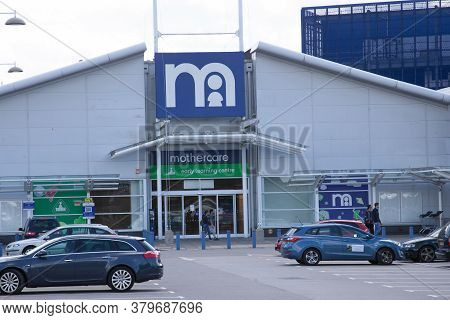 The Mothercare Shop At West Quay Retail Park In Southampton, Hampshire In The Uk, Taken 10th July 20