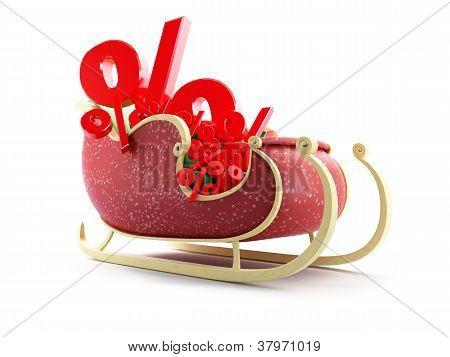 Santa Sleng Percent