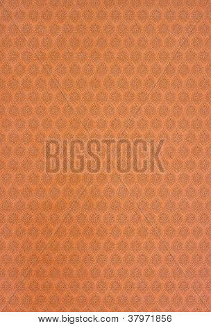 Orange Line Thai Arts patterns paper