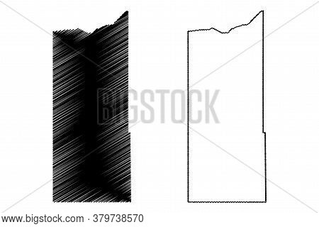 Newton County, Indiana (u.s. County, United States Of America, Usa, U.s., Us) Map Vector Illustratio