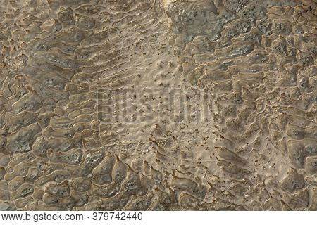 The Surface Of The Limestone In The Form Of Intricate Patterns. The Texture Is Made By Flowing Water