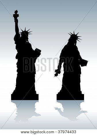 Depressed Satue Of Liberty