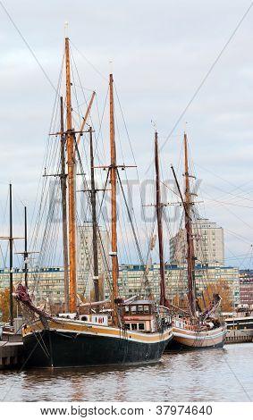 Old Sailboats.