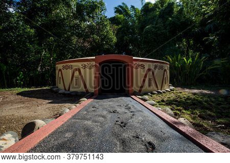 Temazcal- Traditional Steam Sauna Bath Of Mesoamerican Cultures.