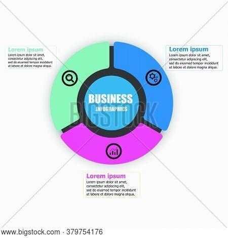 The Business Infographic Vector Design Template For Illustration. Planning Timeline Infographics Des