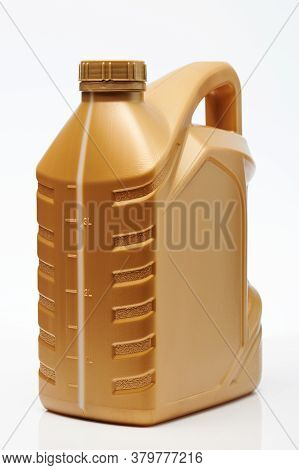 Yellow Plastic Jerrycan